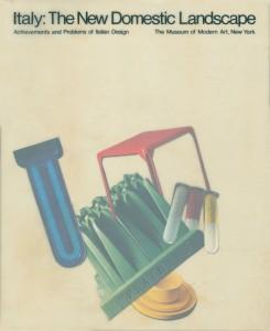 Firenze Fuori ha scoperto la particolare copertina del catalogo The New Domestic Landescape