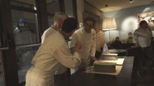 Mangiare a Firenze: Buffet di Procopio all'Art Gallery Hotel con gelato salato dei Gelatieri Artigiani Fiorentini