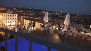 Fuochi di San Giovanni 2014 a Firenze visti dal nuovo rooftop bar 360 del Grand Hotel Minerva