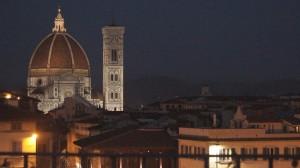 Vista di Firenze dal 360 rooftop bar del Grand Hotel Minerva in Piazza Santa Maria Novella