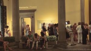 Firenze Fuori all'evento a Palazzo Strozzi I Giovedì al Quadrato