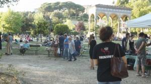 Firenze Fuori ad uno degli eventi estivi del GIardino dell'Orticultura: la Fiera del Vintage