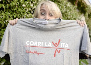 Corri La Vita Firenze 28 settembre 2014 Luciana Littizzetto credits  Foto Moodypix.it