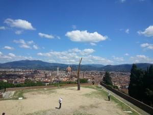 Prospettiva Vegetale Veduta Forte Belvedere