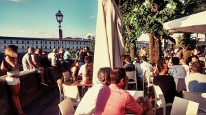 Spiaggia sull'Arno a Firenze