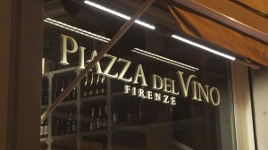 Piazza del Vino ristorante a Firenze in via della Torretta 8