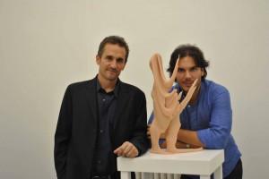 Richard Dupont con Eduardo Secci