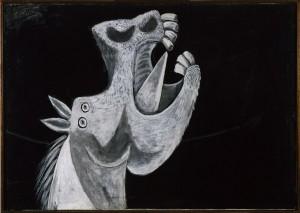 Picasso Schizzo per Guernica