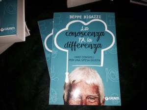 Beppe Bigazzi nuovo libro La Conoscenza fa la differenza