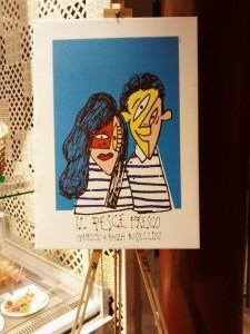 Col Mercato da Picasso Il pesce Fresco cubista