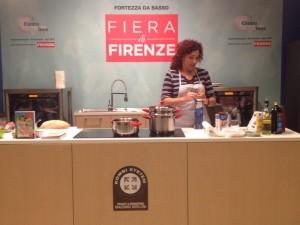 Fiera di Firenze Giulia Scarpaleggia Show cooking