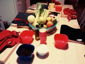 Cuisine Collectif Corso di cucina creativa romantica