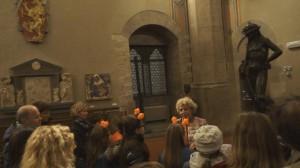 Una passeggiata dalla notte all'aurora Halloween al Bargello Firenze 2