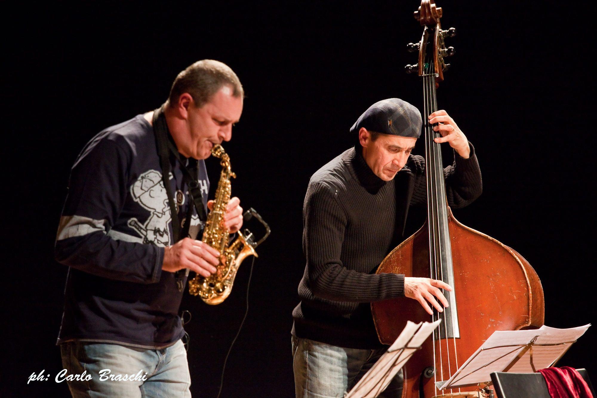 Da sn Daniele-malvisi-e-gianmarco-scaglia_Valdarno Jazz
