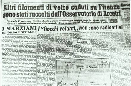 ufo al franchi giornale