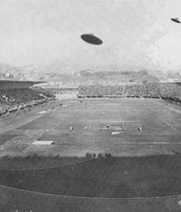 UFO al Franchi: quando gli alieni sorvolarono Firenze